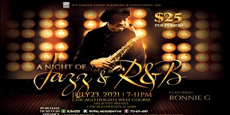 A Night of Jazz and R&B featuring Ronnie G tickets