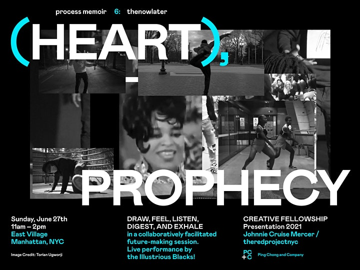 Process memoir 6: thenowlater (HEART) Prophecy image