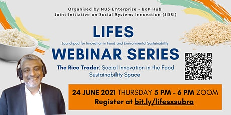 The Rice Trader: Social Innovation in the Food Sustainability Space tickets