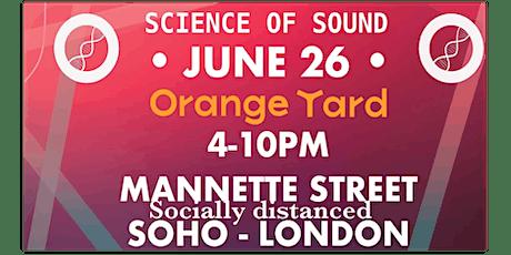 Science of Sound @ Orange Yard tickets