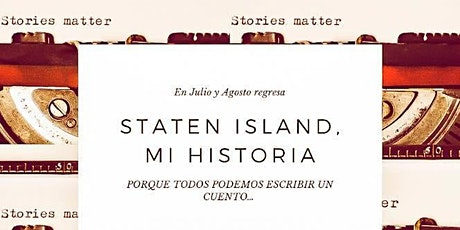 Staten Island, mi historia Taller de narrativa- Julio entradas
