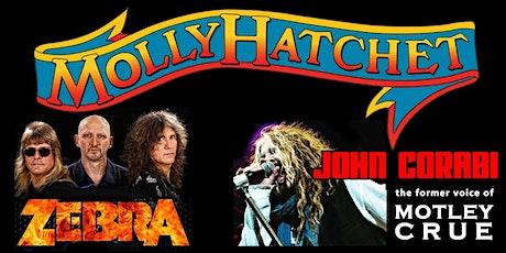 Molly Hatchet with Special Guest: Zebra & John Corabi tickets