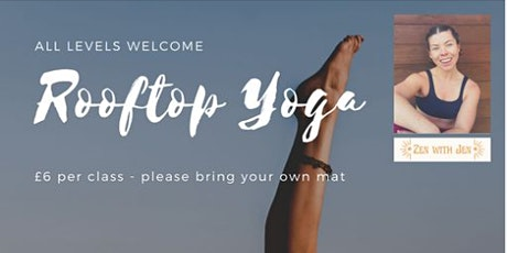 ROOFTOP YOGA CLASS - SALFORD AREA tickets