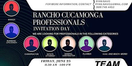 Rancho Cucamonga Professionals Invitation Day tickets