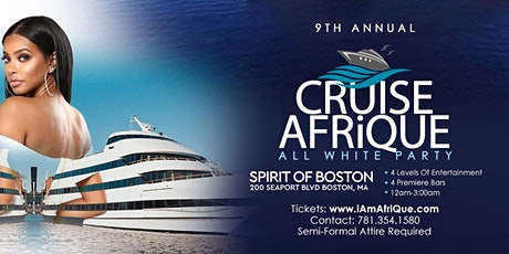 """10th Annual  """"All White"""" Cruise AfriQue 