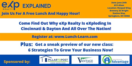 eXp Explained - Lunch & Learn + Happy Hour! tickets