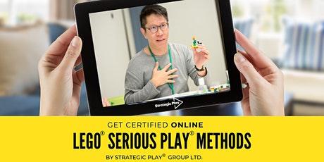 Reconnecting: Certificação Online em LEGO® SERIOUS PLAY® Times & Grupos ingressos