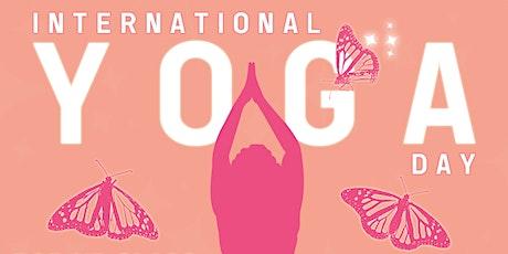 Pop Up Class! International Yoga Day [FREE CLASS] tickets