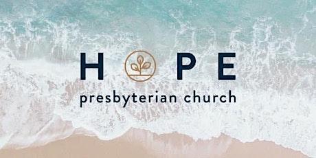 Hope PC Outdoor Worship Service - Sunday, June 27, 2021 boletos
