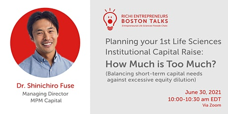 Planning your First LS Institutional Capital Raise: How Much is Too Much? tickets
