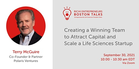 Creating a Winning Team to Attract Capital and Scale a LS Startup tickets
