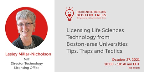 Licensing LS Technology from Boston-area Universities tickets