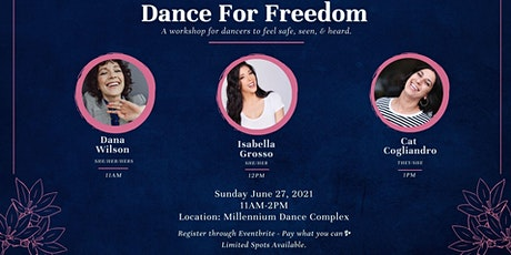 Dance for Freedom tickets
