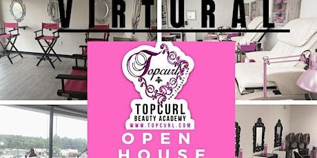Topcurl Beauty Academy Open House biglietti