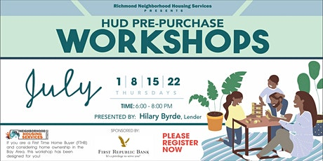 FREE HUD Pre-Purchase Workshop! tickets