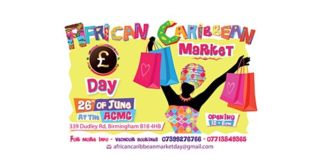 African Caribbean Market Day tickets