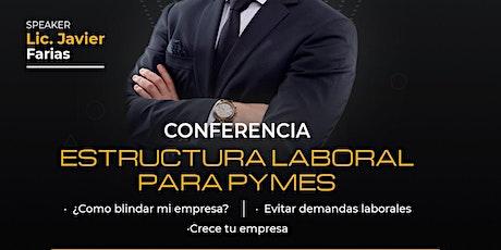 ESTRUCTURA LABORAL PARA PYMES boletos