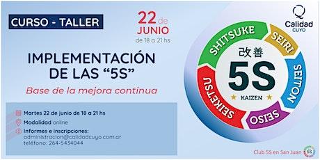 IMPLEMENTACION DE LAS 5S boletos