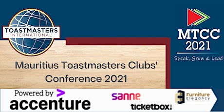 Mauritius Toastmasters Clubs' Conference 2021 (MTCC2021) tickets