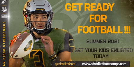 San Diego Strike Force Football Camps tickets