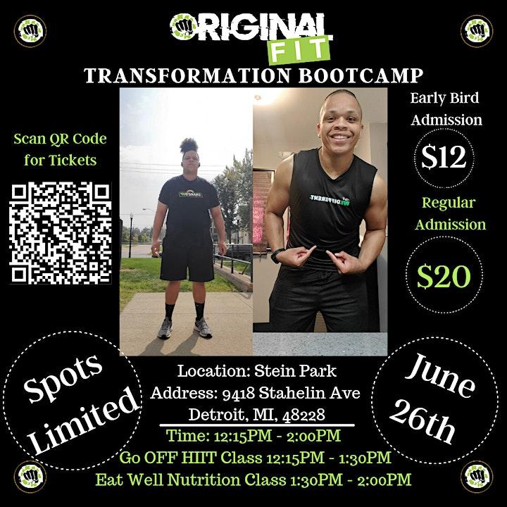 Original Fit Transformation Bootcamp image