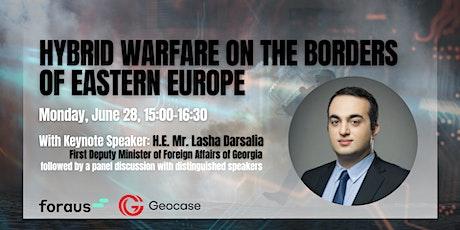Hybrid Warfare on the Borders of Eastern Europe tickets