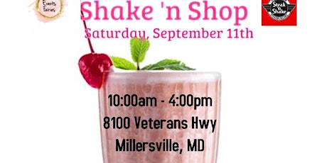 Vendors Wanted: Shake 'n Shop tickets
