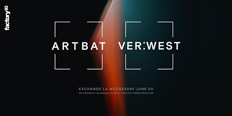 ARTBAT & VER:WEST tickets