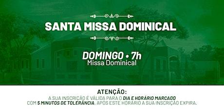 Santa Missa Dominical - Domingo | 20 de Junho 7h30 ingressos