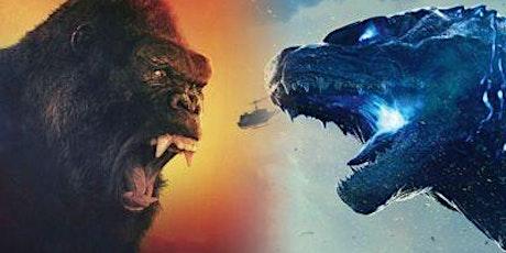 Free Online Kids Zoom Session - Godzilla v Kong Event! tickets