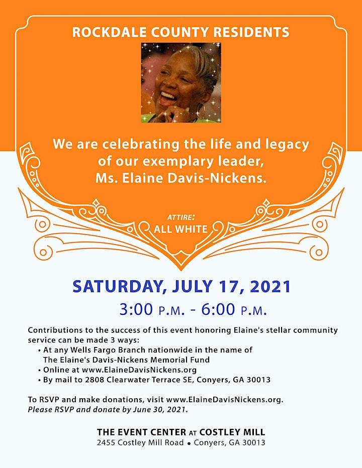 Elaine Davis-Nickens Memorial image