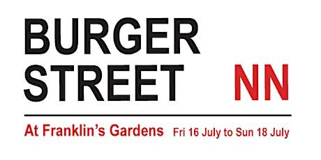 Burger Street NN, July 16 to 18 tickets