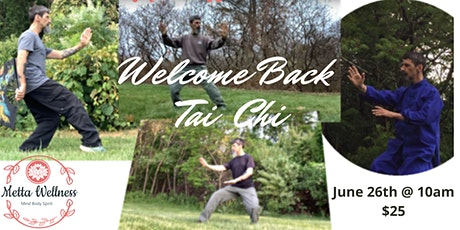 Welcome Back Tai Chi tickets