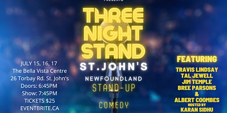 THIRD NIGHT STAND - STAND UP COMEDY tickets