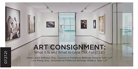 Art Consignment: What It Is and What to Look Out For (CLE) tickets