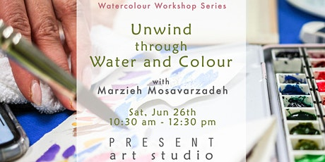Watercolour Workshop: Unwind through Water and Colour tickets