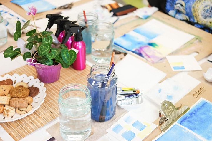 Watercolour Workshop: Unwind through Water and Colour image