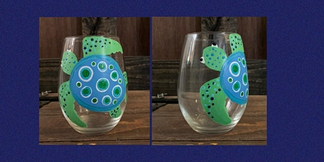 Sea Turtle Stemless Wine Glass Paint Party-Alibi Room tickets