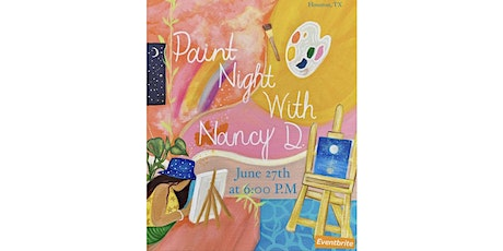 Paint Night With Nancy D. tickets