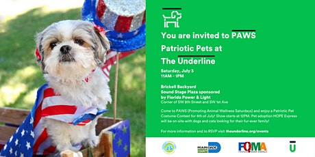 PAWSPatriotic Pets at The Underline tickets