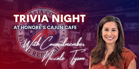 Trivia Night w/ Council Member Niccole Tyson tickets