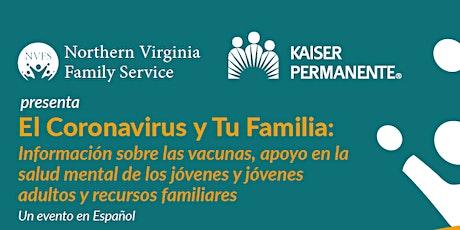 El Coronavirus y Tu Familia: Información sobre las vacunas entradas