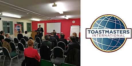 Learn Public Speaking - Virtual Open House @ Thamesdown Speakers Club tickets