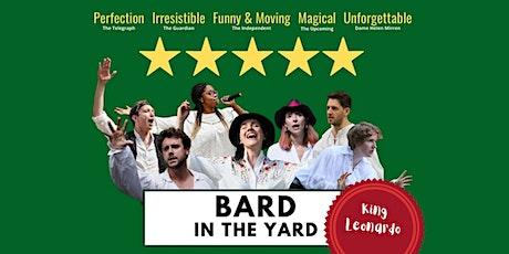 Bard in the Yard: King Leonardo tickets