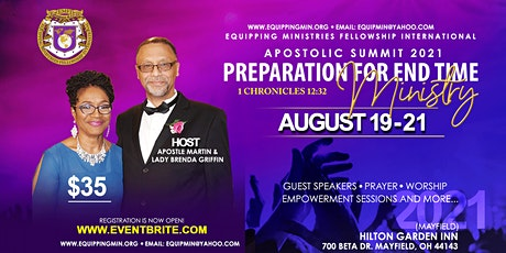 EMFI Summit 2021: Preperation for End Time Ministry tickets