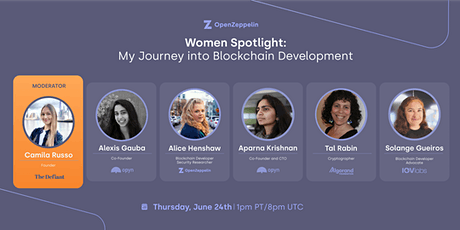 Women Spotlight: My Journey into Blockchain Development tickets