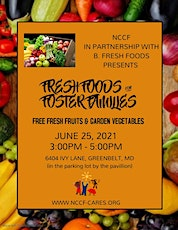 FRESH FOODS FOR FOSTER FAMILIES tickets