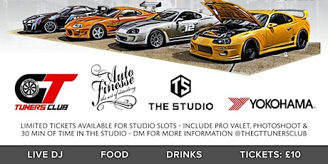 GT Tuners Club - Fast & Furious - Jap & Supercar Extravaganza @ the Studio tickets