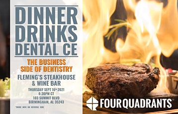 Dinner and Dental CE - The Business Side of Dentistry Birmingham, AL tickets