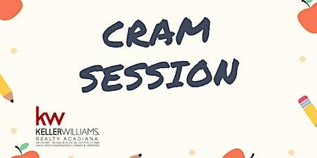 Cram Session tickets